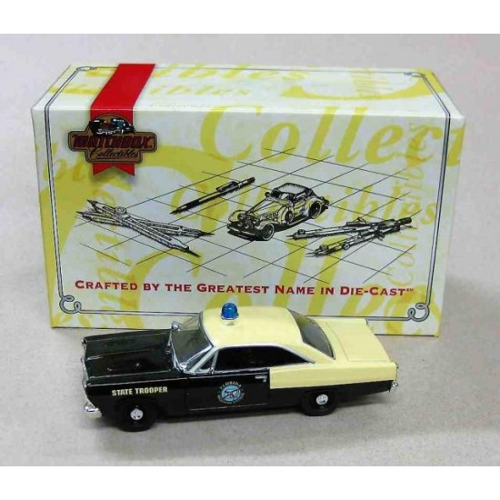 Ford Fairlane Florida Police Yellow/Black 1966