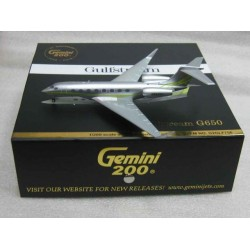 Gulfstream G650 N652GJ scale 1/200