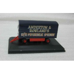 Trailer Circus 'Anderton & Rowlands Super Psychedelic Speedway' scale 1/76