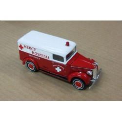 GMC 1937 Ambulance Mercy Hospital scale 1/43