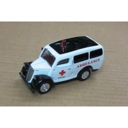 Ford E83 W Van 1950 UK Ambulance scale 1/43