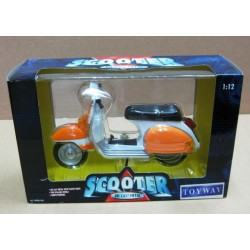 Scooter Orange/White 1960's  scale 1/12