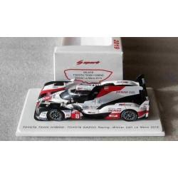 Toyota TS050 Hybrid #8 Buemi/Nakajima/Alonso Winner Le Mans 2019