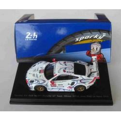 Porsche 911 RSR #911 Pilet/Tandy/Makowiecki Winner GTLM Petit Le Mans 2018
