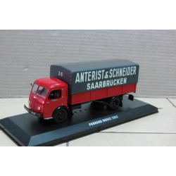 Panhard Movic Red/Black with Grey Canopy 1952 scale 1/43