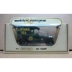 Talbot Van Lipton's Tea with Royal Crest 1927 scale 1/47