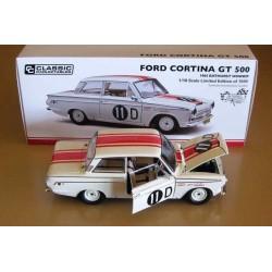 Ford Cortina GT 500 #11D Bo Seton/Midge Bosworth Winner Bathurst 1965
