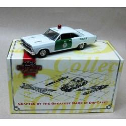 Ford Fairlane Miami Police White/Green 1966