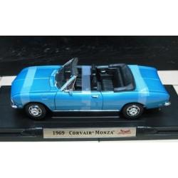 Chevrolet Corvair Monza Convertible Metallic Blue 1969