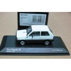 Fiat Panda 34 White/Black 1980