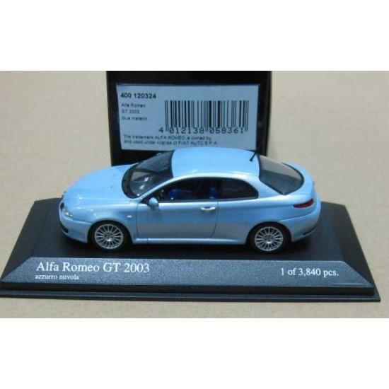 Alfa Romeo GT Metallic Blue 2003