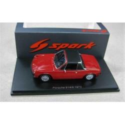 Porsche 914/6 LHD Red/Black 1973