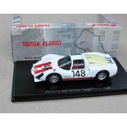 Porsche 906 (Carrera 6) #148 Willy Mairesse/Herbert Muller Winner Targa Florio 1966