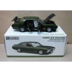 Ford XA Falcon Sedan RPO83 Jewel Green Metallic 1973