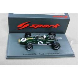 Brabham Repco BT24 #16 Trial windscreen Practice Italian GP 1967