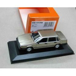 Volvo 740 GL LHD Metallic Gold 1986