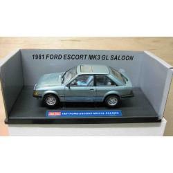 Ford Escort Mk 3 GL 2 door LHD Metallic Arctic Blue 1981
