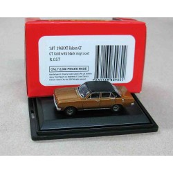 Ford XT Falcon GT Gold/Black vinyl Roof 1968 scale 1/87 (HO)