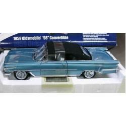 Oldsmobile 98 Convertible Metallic Aqua Mist/Black Top 1959