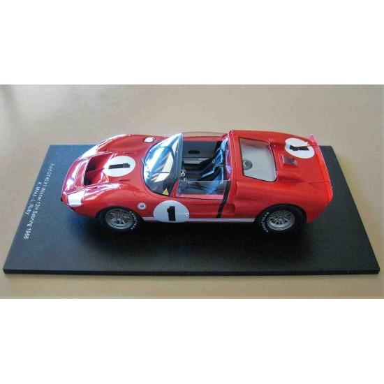 Ford GT40 X1 #1 Shelby American Inc. Ken Miles/Lloyd Ruby Winner Sebring 12 Hour 1966