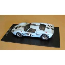 Ford GT40 Mk2B Shelby American Inc. #57 Ronnie Bucknum (USA)/Paul Hawkins (Australia) DNF 24 Hour Le Mans 1967