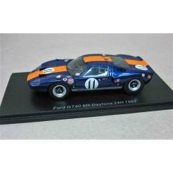 Ford GT40 #11 John Wyer Auto. Jacki Ickx/ Dick Thompson 6th 24Hour Daytona 1967