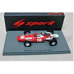 Brabham BT7 #18 Jo Bonnier British GP 1966