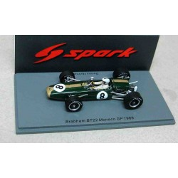 Brabham BT22 #8 Denny Hulme Monaco GP 1966