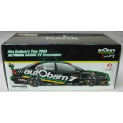 Holden VE Commodore #7 Autobarn Racing Alex Davison 2005
