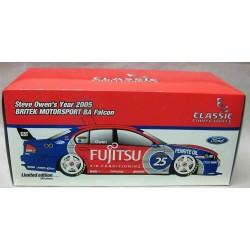Ford BA Falcon #25 Britek Motorsport Fujitsu Steve Owen 2005