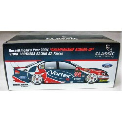 Ford BA Falcon #98 SBR Vortex 98 Russell Ingall Runner-Up in Championship 2004