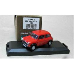 Austin Mini 1000 City E RHD Red 1980