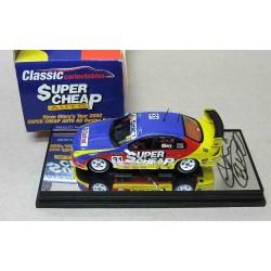 Ford AU Falcon #31 Supercheap Auto Racing Steve Ellery 2002 Signed