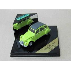 Citroen 2CV Closed Roof Lime Green 1970-73