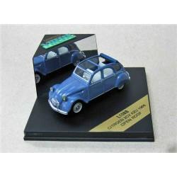 Citroen 2CV AZU Open Roof Blue 1966