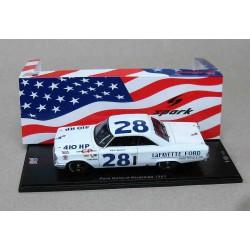Ford Galaxie #121 Holman Moody Ken Miles NASCAR Golden State 400 Riverside Raceway 3Nov1963