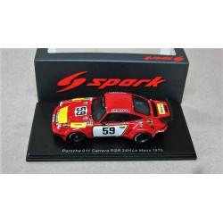 Porsche 911Carrera RSR #59 Georg Loos Racing Tim Schenken/Howden Ganley DNF 21st hour (Gearbox) 24 hour Le Mans 1975