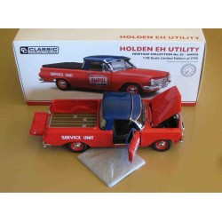 Holden EH Utility AMPOL Red/Blue 1964