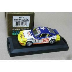 Porsche 911 Carrera #4 Federal Express Guy Neve Belgian Procar Series 1992