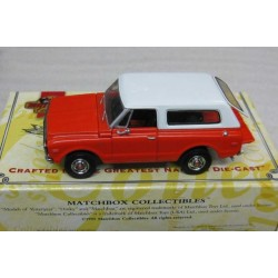 Chevrolet Chevy K/5 Blazer Orange/White 1969 scale 1/43