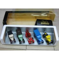 Citroen C4 Set Pickup Tan, Bus Green, Fire Red, Van Blue, Break Down Yellow 1928-34