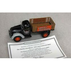 International D series Truck Harley Davidson Black/Grey/Wood Brown 1937