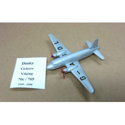 Vickers Viking G-AGOL Scale ABOUT 1/195 Repainted NO BOX