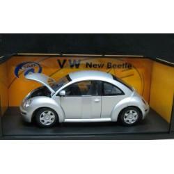 Volkswagen New Beetle Coupe Metallic Silver 1998-