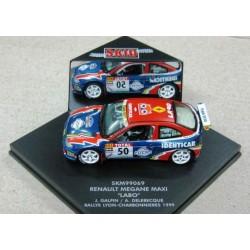Renault Megane #50 Galpin/Delebecque Rally Lyon-Charbonnieres 1999