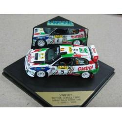 Toyota Corolla #5 Carlos Sainz/Luis Moya Rally Kenya 1998