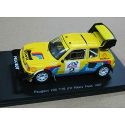 Peugeot 205 T16 #2 Ari Vatanen Pikes Peak 1987