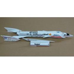 Spirit of America Formula Shell LSRC Craig Breedlove 676mph 1996/7 scale 1/43