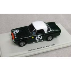 Sunbeam Alpine #32 Peter Harper/Peter Procter 15th Le Mans 1962