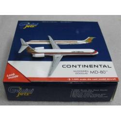 McDonnell Douglas MD-80 Continental N9801F